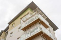 现代社会住房,英国 免版税库存照片