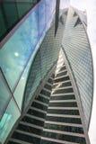 现代建筑复合体 免版税库存图片