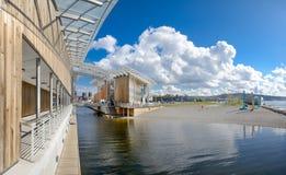 现代建筑学在奥斯陆 库存图片