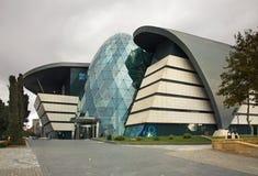 现代建筑学在巴库 阿塞拜疆 库存图片