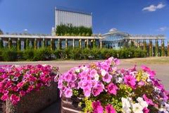 现代建筑学在Bialystok 库存照片