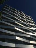 现代建筑学大厦透视 免版税库存照片