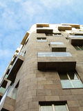 现代建筑学大厦 免版税库存照片