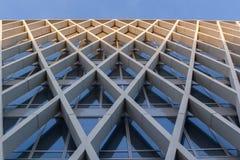 现代建筑学安特卫普,比利时 免版税库存图片