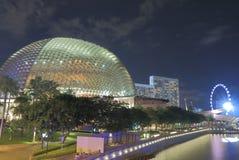 现代建筑学新加坡 免版税库存照片