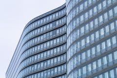 现代建筑学的曲线 库存图片
