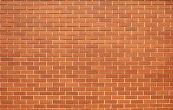 现代红砖墙壁 免版税图库摄影