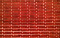 现代红砖墙壁 库存图片