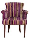 现代纺织品椅子 库存图片