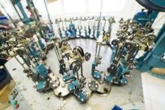 现代编织机器 库存图片