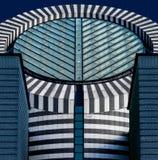 现代艺术博物馆大厦 库存照片