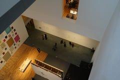 现代艺术博物馆10月2015 7日 库存图片