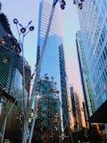 现代艺术在城市 免版税库存照片