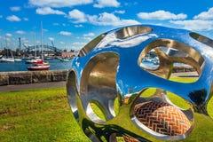 现代艺术在悉尼澳大利亚 库存照片