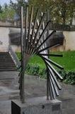 现代艺术雕塑 图库摄影