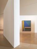 现代艺术馆在城市 免版税库存照片