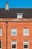 现代英国住房开发 免版税库存照片