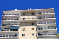 现代西班牙旅馆 免版税库存图片