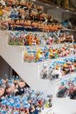 现代讽刺画加泰罗尼亚的caganers在市场上 免版税图库摄影