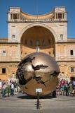 现代设施球形在梵蒂冈 图库摄影