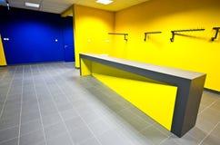 现代设计健身房柜台 图库摄影