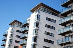 现代豪华平的公寓 图库摄影