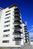 现代豪华平的公寓 免版税库存照片
