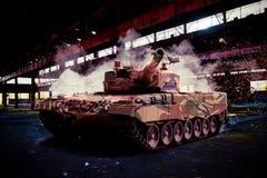 现代豹子牌坦克 免版税库存图片