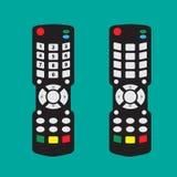现代遥控与箭头按钮 免版税库存图片