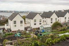 现代都市风景,英国 免版税库存图片