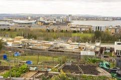 现代都市风景,英国 库存图片