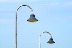 现代都市lampost 免版税图库摄影