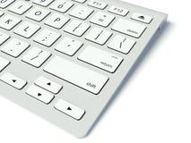 现代键盘 免版税库存照片