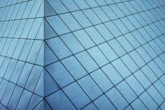 现代门面的玻璃 免版税库存图片
