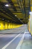 现代隧道 库存照片