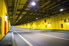 现代隧道 库存图片