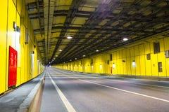 现代隧道 图库摄影