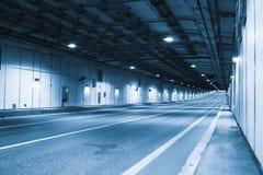 现代隧道 免版税库存照片