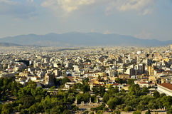 现代雅典 免版税库存照片