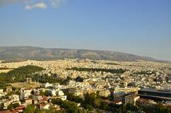 现代雅典 库存照片