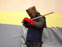 现代骑士 免版税图库摄影
