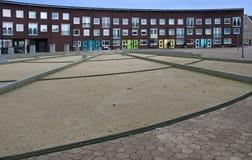 现代Almere,荷兰 免版税库存图片