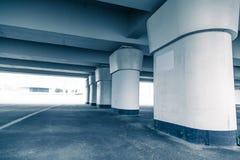 现代architekture,弗罗茨瓦夫体育场,冷的口气概念 库存图片