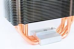 现代CPU致冷机 免版税库存照片