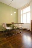 现代dinning的室 库存照片