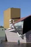 现代Groninger博物馆,荷兰 免版税库存照片