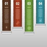 现代infographics企业模板 向量 免版税库存图片