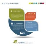 现代Infographics模板。 库存图片