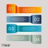现代infographics模板 免版税库存图片