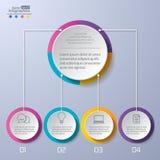 现代infographics 库存例证